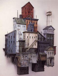 Bunker Hill, Michael McMillen, 1985