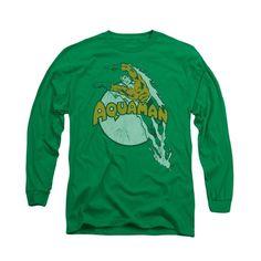 DC Comics Aquaman - Splash Adult Long Sleeve T-Shirt