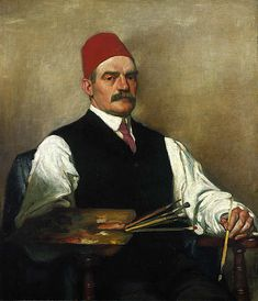 William Strang, 1859 - 1921. Artist (Self-portrait)