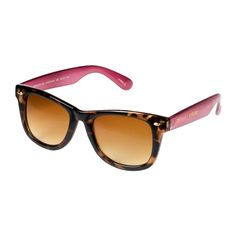I love the Betsey Johnson Wayfarer Sunglasses  from LittleBlackBag