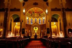 Catholic Church of St Benedict, Archdiocese of Indianapolis, USA