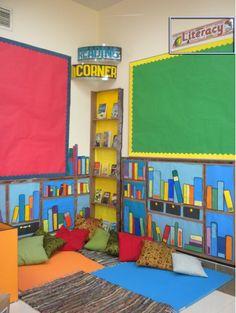 KS2 Classroom Reading Corner Photo - SparkleBox