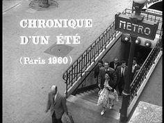 Chronique d'un été, Jean Rouch/ Edgar Morin, 1960