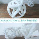 Make It: Pretty Science Snow Balls