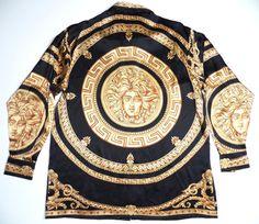 Versace Medusa Silk Shirt