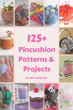 More lovely Pincushion Pattern and Project that you could ever ask for! #pincushion #soseweasy #freepatterns