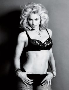 Madonna worked through to have such a lovely body