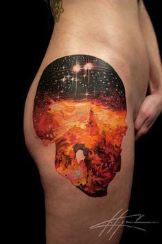 Nebula Tattoo on Pinterest | Outer Space Tattoos, Galaxy ...