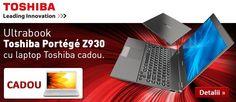 Super Oferta! Ultrabook-ul Toshiba Portege Z930-168 vine cu un Laptop Toshiba Satellite C855-248 Cadou