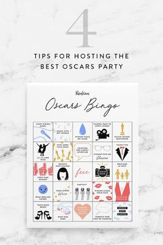 How to Host an Oscar Party That's More Entertaining Than the Actual  Awards via @PureWow