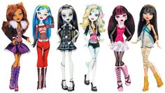 The original Monster High BFFs are still as fierce as they were on the first day of school This set is an instant collection with six favorites: Draculaura, Clawdeen Wolf, Frankie Stein, Cleo de Nile,