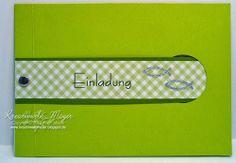 Einladungskarte Kommunion/Konfirmation / Invitation Card