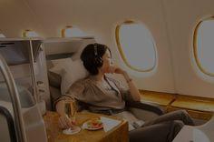 Emirates | 12 places d'avion en première classe qui vous feront brûler d'envie