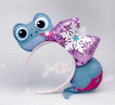 Frozen 2 Bruni the Salamander Inspired Mickey Mouse Ears Headband Disney Diy, Diy Disney Ears, Disney Mickey Ears, Disney Crafts, Frozen Headband, Mickey Mouse Ears Headband, Micky Ears, Disney Headbands, Ear Headbands