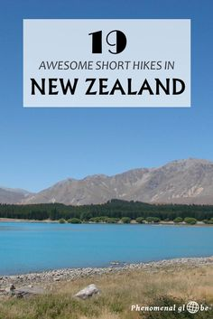 New Zealand is hikers paradise with countless amazing hikes and tracks! Check out these 19 great short hikes: 5 on the North Island and 14 on the South Island.