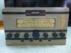 Vintage Howard Communication Receiver Model 438 Ham Amateur Radio Powers On #Howard