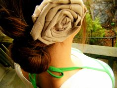 You Seriously Made That!?: Hair Rosette Tutorial