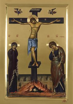 Edmund Rubbra Meditations on a Byzantine Hymn 'O Quando in Cruce', Op 117 for unaccompanied viola Roger Chase, viola Recorded on June . Religious Images, Religious Icons, Religious Art, Byzantine Icons, Byzantine Art, Christian Religions, Image Painting, Crucifixion Of Jesus, Jesus On The Cross