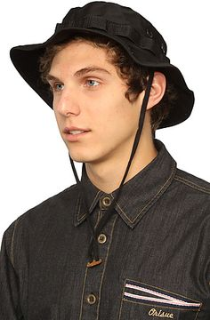 The Boonie Hat in Black by Rothco
