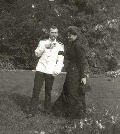 Nicky and Alix, Denmark, 1899