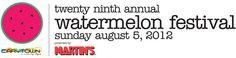 Watermelon Festival this Sunday!