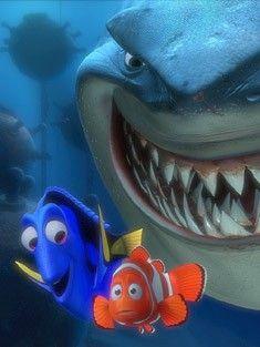 *DORY, MARLIN & BRUCE ~ Finding Nemo, 2003