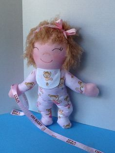 PDF Cloth Rag Doll Pattern Snuggles Easy Great by PeekabooPorch