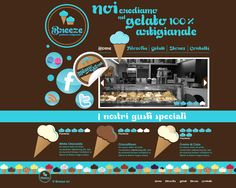 Ice cream shop WEBSITE