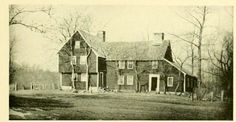 This building was the original Meetinghouse built in New London where the  Buckley School now stands. Because they more room, it was sold to James Avery in 1786, dismantled and moved by ferry to Groton where it was used as the Avery Home and later a meetinghouse again. It burned to the ground in 1896 and the Avery monument now stands where this was.