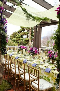 """Real Weddings Feature """"Garden in the City"""""""