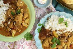 Ukemeny for uke 40 Butter Chicken, Naan, Curry, Drink, Ethnic Recipes, Food, Curries, Beverage, Essen
