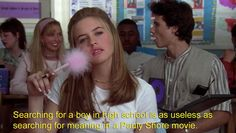 """Remember when Cher makes this comparison? 