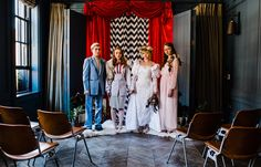 Twin Peaks Inspired Wedding Editorial by H&G Creations