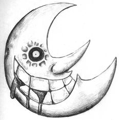 I love the moon from Soul Eater!!