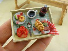 Mini Food Polymer Clay - Mini comida de arcilla polimérica