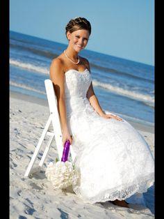 Beach wedding. :)