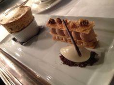@Stacey Jorgensen - Coffee and walnut soufflé, Mille feuille #FeedYourEyes May/June