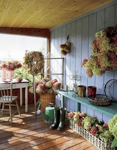 Ticking and Toile: ~hydrangea heaven~