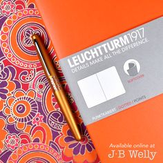 JBWelly.com Orange you glad you saw this picture!  This is an Orange Leuchtturm1917 B5 Softcover notebook and a Pilot Metropolitan pen in Retro Pop Orange. Happy journaling!!