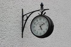 時間, クロック, 時間を示す, ポインター, ダイヤル, 壁時計, 金属, 黒と白, タイム, お支払い
