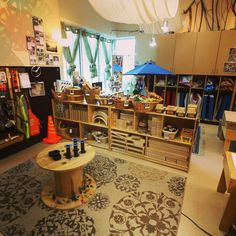 When a child is invited into their classroom environment, it opens up a window into their soul, not just their mind. Creating welcoming environments is at the heart of the Reggio approach to teaching. Click to learn more! #ECE #reggioinspired #thirdteacher