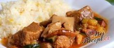 Vepřová plec s hříbky a cuketou Pork, Beef, Chicken, Ethnic Recipes, Pork Roulade, Pigs, Ox, Ground Beef, Buffalo Chicken