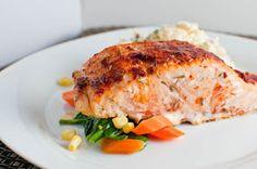 My FIANCE! Likes It, So It MUST Be Good.: Smoked Paprika Rubbed Salmon