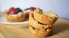 coconut oatmeal cookie cups