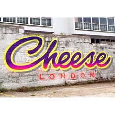 New work yesterday by @gary_stranger / @cheeselondon number 3 more to come  so tight #msk #gary #stranger #cheeselondon #typography #newwork #art #streetart #streetlife #streetphotography #cheese ( @cheeselondon ) by londongraffiti