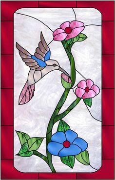 Hummingbird Dogwood Modified Decorative Window Film