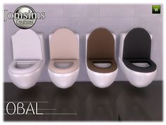 Jomsims toilet from the OBAL bathroom set. NEW TOILET ALERT!!!! RECOMMEND.