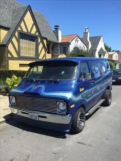 1973 Dodge van that i customized #van #vans #customvans #vandalf #dirtydonny #vannin