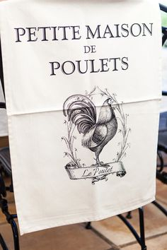 Tea Towel French Rooster