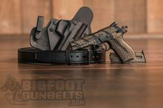 Why pony up for a gun with a Cerakote finish? It's a paint and protective coating, and does hold up pretty well. Read on for more. Open Carry, Carry On, Concealed Carry, Hand Guns, Belts, Training, Leather, Firearms, Pistols